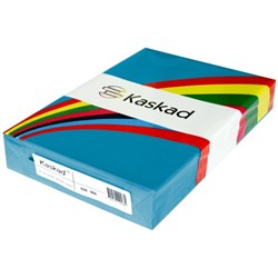 Kaskad A3 80gsm Kingfisher Blue Colour Copy Paper, Pack of 500
