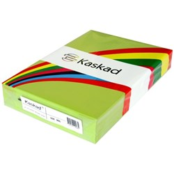 Kaskad A3 80gsm Parakeer Green Colour Copy Paper, Pack of 500
