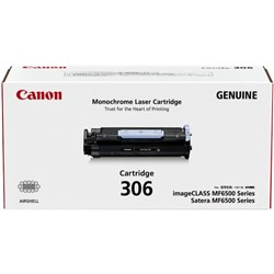 Canon CART306 Black Laser Toner Cartridge