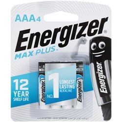 Energizer E2 Advanced AAA Batteries, Card of 4