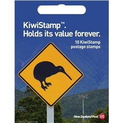 NZ Post KiwiStamp Postage Stamps, Pack of 10