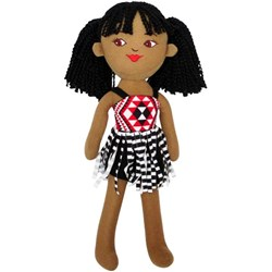 Maori Girl Soft Toy 400mm
