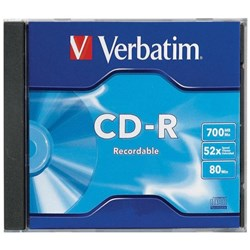Verbatim CD-R Recordable Media 700MB
