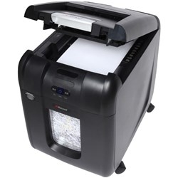 Rexel Stack & Shred Auto+ 200X Cross Cut Shredder Medium Duty