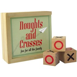Noughts & Crosses Game Vintage Box