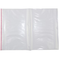 Help-It Resealable Plastic Bags 230x305mm Clear, Pack of 10