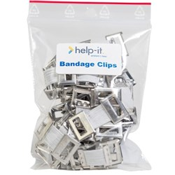 Help-It Bandage Clips, Pack of 10