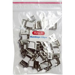 Help-It Bandage Clips, Pack of 50