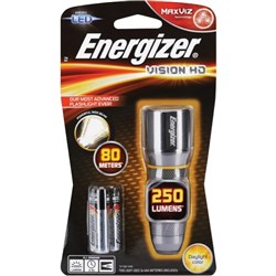 Energizer Vision HD Metal LED Torch 3AAA