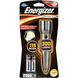 Energizer Vision HD Metal LED Torch 2AA