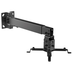 Brateck Universal Projector Bracket Wall & Ceiling Mount Black