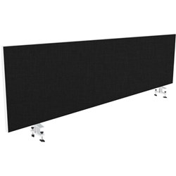 System 25 Bottom Mount Desk Screen With Clamps 1800mm Gyro/Caviar