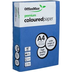 OfficeMax A4 160gsm Nifty Navy Premium Colour Copy Paper, Pack of 250