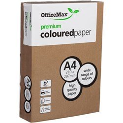 OfficeMax A4 160gsm Beefy Brown Premium Colour Copy Paper, Pack of 250