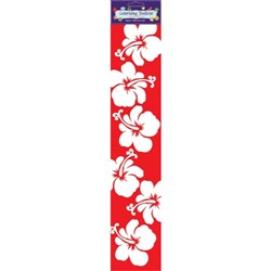 NZ Hibiscus Wall Border 110x515mm