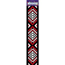 NZ Maori Wall Border 110x515mm, Pack of 7