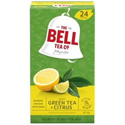 Bell Herbal Zesty Green Citrus Tea Bags, Pack of 24