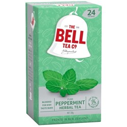 Bell Herbal Peppermint Tea Bags, Pack of 24