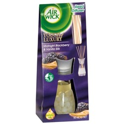 Air Wick Air Freshener Midnight Blackberry and Vanilla Silk Reed Diffuser 50ml