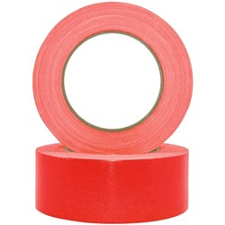 Pomona Cloth Packaging Tape 48mm x 30m Red, Carton of 18