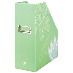 FM Pastel Magazine File Mint Green Baby Blue