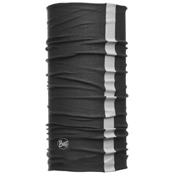 Buff Reflective Thermal Neckwear Black