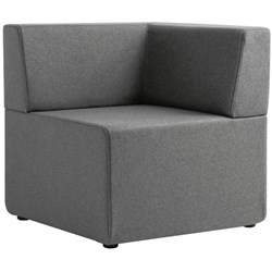 Seattle Corner Seat Sofa Augustus Fabric/Armour