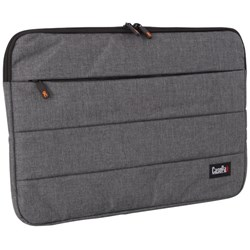 Casepax City Series Bubble Laptop Sleeve 16 Inch Black/Grey