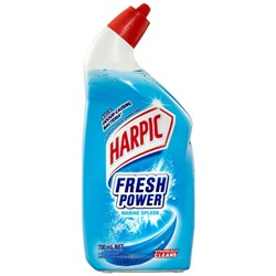 Harpic Fresh Power Toilet Cleaner Marine Splash 700ml