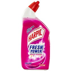 Harpic Fresh Power Toilet Cleaner Tropical Blossom 700ml