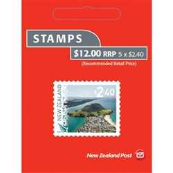NZ Post $2.40 Definitive Postage Stamps 2018, Booklet of 5