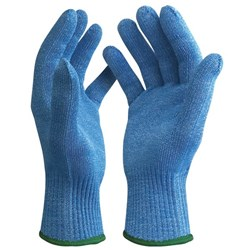 Blade Core Standard Gloves Cut Level 5 Blue Small, Pack of 12 Pairs