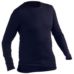 Equinox Long Sleeve Thermal Top Crew Neck 240g Medium Navy