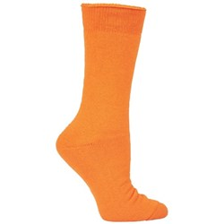 JB's Wear Bamboo Work Socks King Size Orange