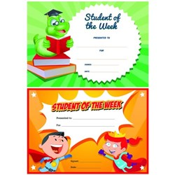 Avery Student Of The Week Certificates, Pack of 36