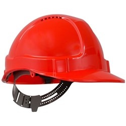 Esko Tuff-Nut Safety Hard Hat Red