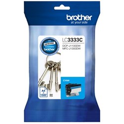 Brother LC3333-C Cyan Ink Cartridge Super High Yield