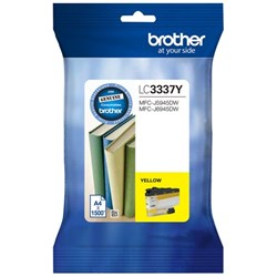 Brother LC3337-Y Yellow Ink Cartridge