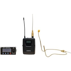 Chiayo UM-31A Headset MIcrophone with Transmitter Beltpack & Receiver Module Set