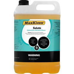 MaxKleen Salute Floor Polish Maintainer & Cleaner 5L