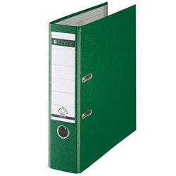 Leitz Lever Arch File A4 Green