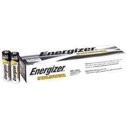 Energizer Industrial AA Alkaline Batteries, Box of 24