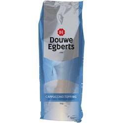 Douwe Egberts Cappuccino Topping Vending Refill 750g