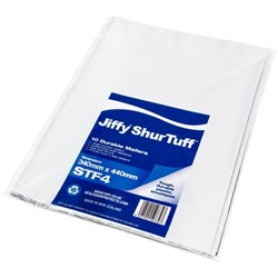 Jiffy ST4 ShurTuff Mailer 340x440mm, Pack of 10