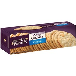 Huntley & Palmers Original Water Crackers 125g