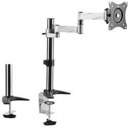 Brateck LCD Monitor Desk Mount Single Swivel 13 To 27 Inch