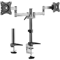 Brateck LCD Monitor Desk Mount Dual Swivel 13 To 27 Inch