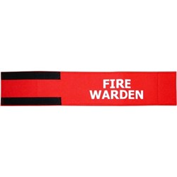 Fire Warden Arm Band 470x90mm