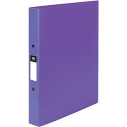 FM Vivid Polypropylene Ringbinder A4 2 Ring 25mm Purple