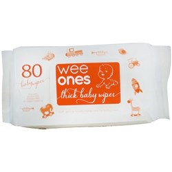 Wee-Ones Baby Wipes Resealable, Carton of 12